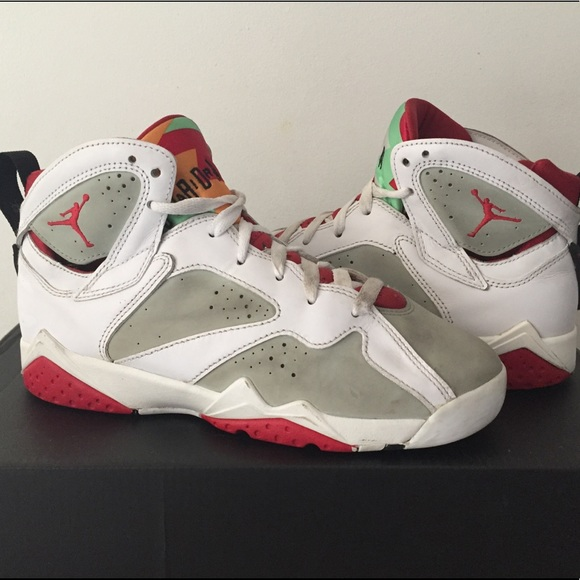 4121fb94cf5350 Jordan Other - Nike Air Jordan 7 Hare White GS Authentic